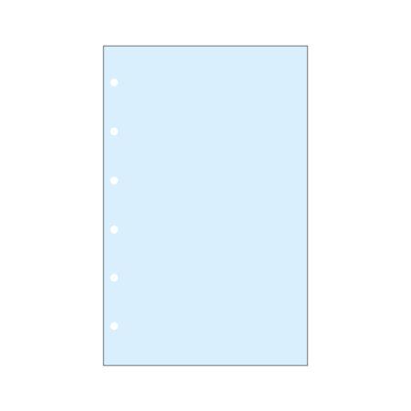 Contax Φύλλα Σημειώσεων Μπλε χωρίς Γραμμές