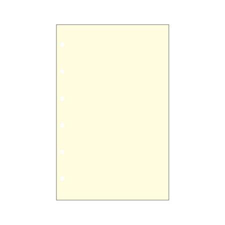 Contax Φύλλα Σημειώσεων Κίτρινα χωρίς Γραμμές