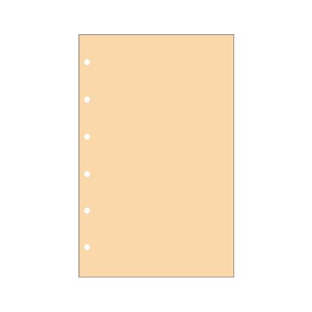 Contax Φύλλα Σημειώσεων Πορτοκαλί χωρίς Γραμμές