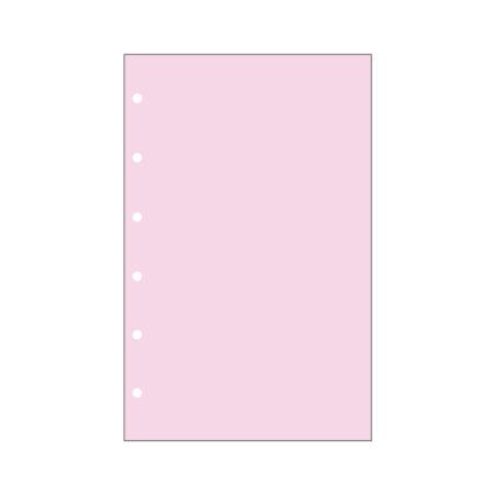 Contax Φύλλα Σημειώσεων Ροζ χωρίς Γραμμές