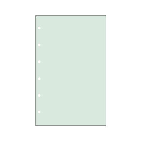 Contax Φύλλα Σημειώσεων Πράσινα χωρίς Γραμμές