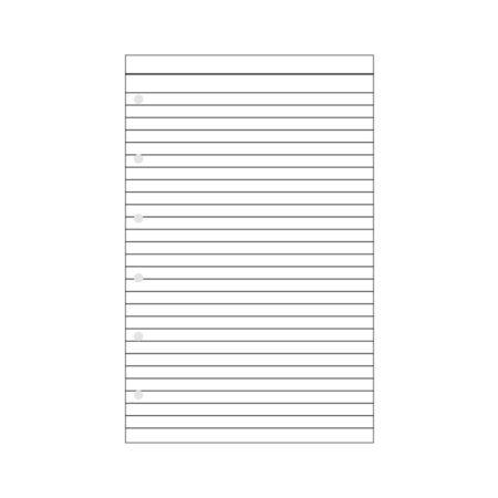 Contax Φύλλα Σημειώσεων Λευκά με Γραμμές