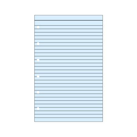 Contax Φύλλα Σημειώσεων Μπλε με Γραμμές