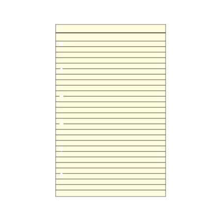 Contax Φύλλα Σημειώσεων Κίτρινα με Γραμμές