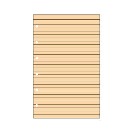 Contax Φύλλα Σημειώσεων Πορτοκαλί με Γραμμές