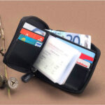 Contax Δερμάτινη Χειροποίητη Θήκη Πιστωτικών Καρτών με Φερμουάρ