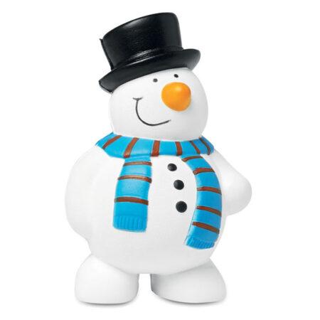 Χριστουγεννιάτικο Antistress σε Σχήμα Χιονάνθρωπου