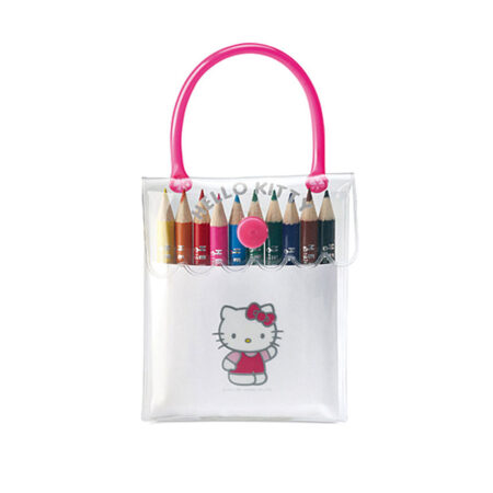 Hello Kitty Τσαντάκι με Ξυλομπογιές.