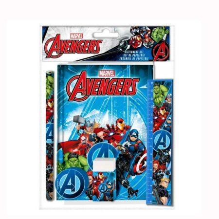 Marvel Avengers Παιδικό Σετ Γραφείου 5τμχ.