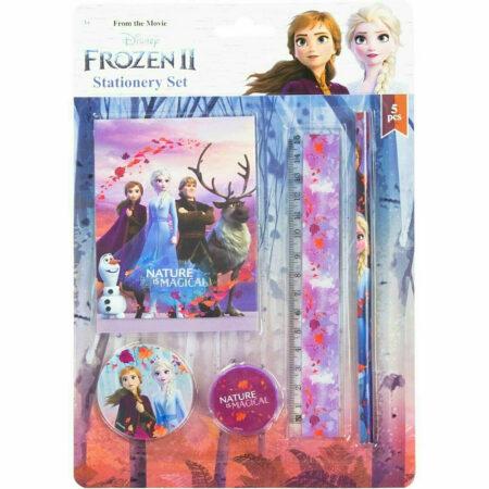 Disney Frozen Σετ Σχολικών Ειδών 5τμχ.