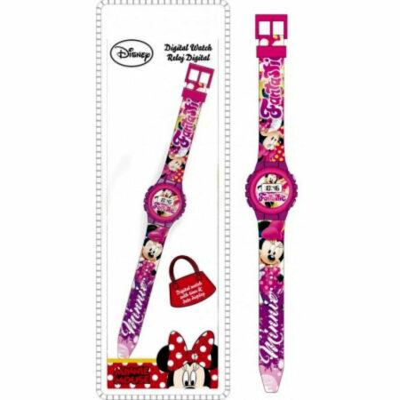 Disney Minnie Ψηφιακό Ρολόι Χειρός