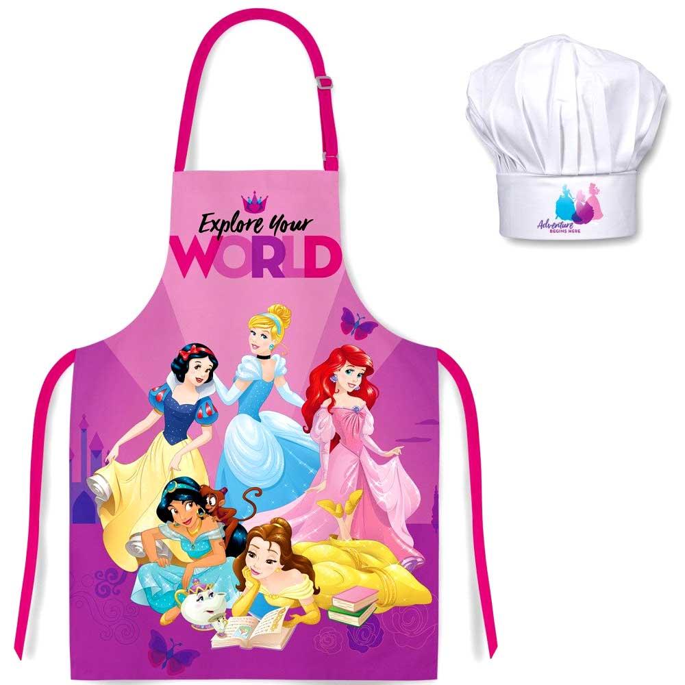 Disney Princesseses Παιδικό Σετ Μαγειρικής 2τμχ.