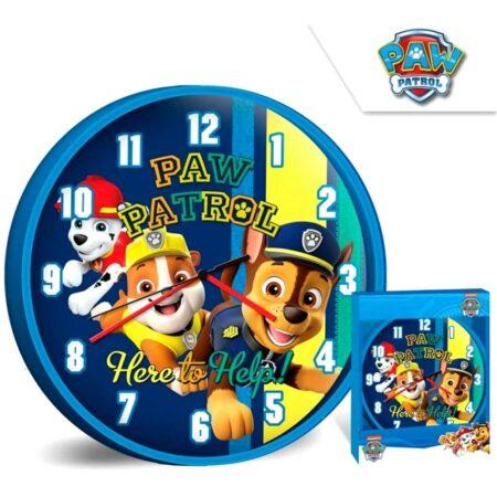 Paw Patrol Ρολόι Τοίχου 51100