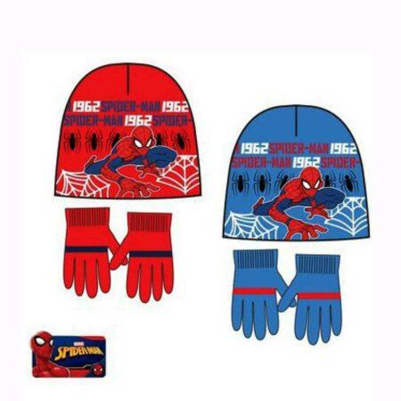 Marvel Spider-Man Σετ 2τμχ. Σκούφος-Γάντια