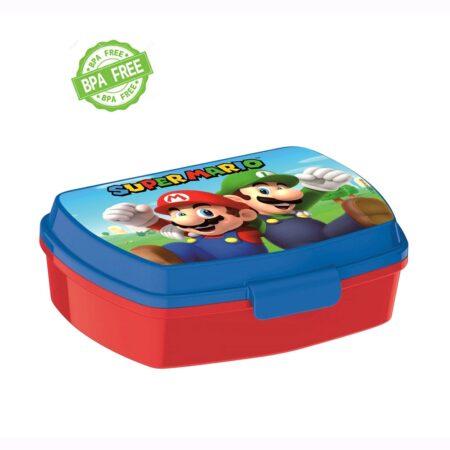 Super Mario Παιδικό Δοχείο Φαγητού