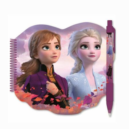 Disney Frozen 2 Σετ Σπιράλ Σημειωματάριο & Στυλό