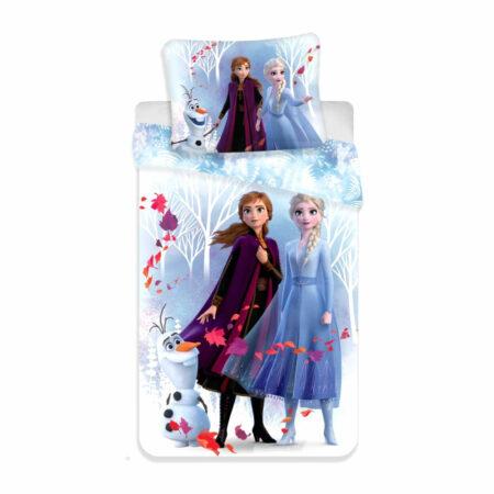 Frozen 2 Βαμβακερό Μονό Σετ Παπλωματοθήκης και Μαξιλαροθήκης