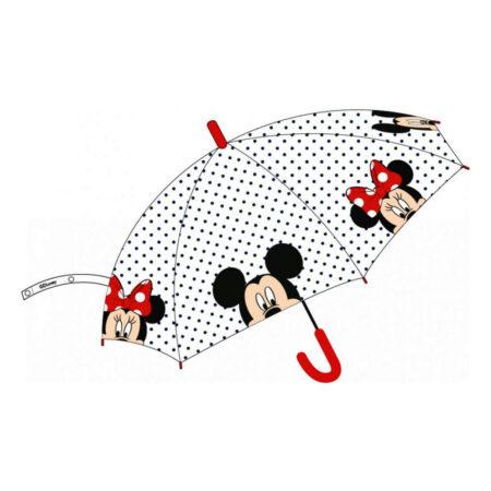 Disney Minnie Mouse Αυτόματη Διάφανη Ομπρέλα 68εκ.