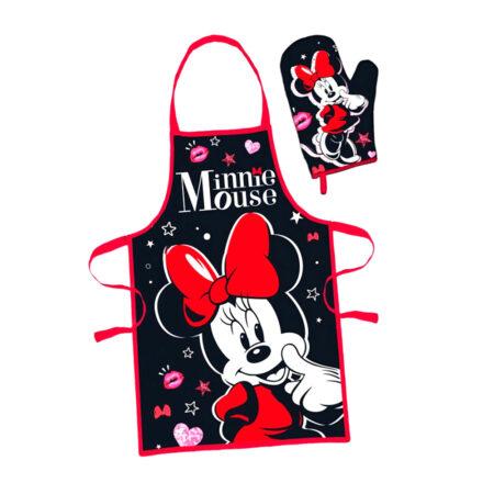 Disney Minnie Γυναικείο Σετ Μαγειρικής