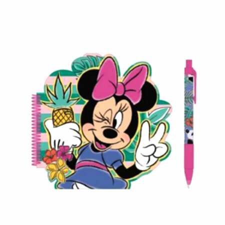 Disney Minnie Σετ Σημειωματάριο-Στυλό 2τμχ.