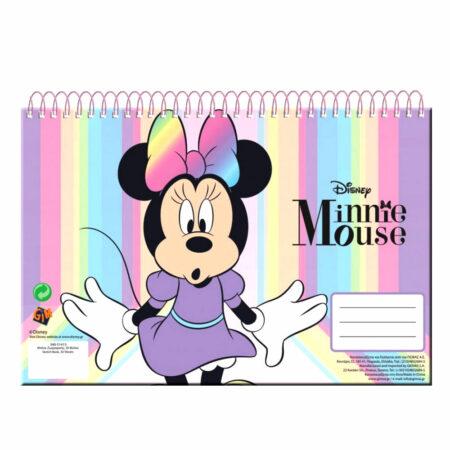 Disney Minnie Mouse Μπλοκ Ζωγραφικής