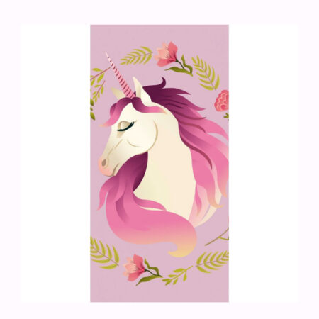 Unicorn Βαμβακερή Πετσέτα Θαλάσσης-Μπάνιου 70 x 140 εκ.
