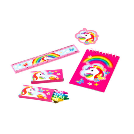 Unicorn Παιδικό Σετ Γραφής 5τμχ.