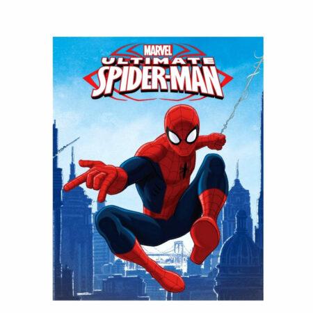 Marvel Spider-Man Fleece Βελουτέ Κουβέρτα