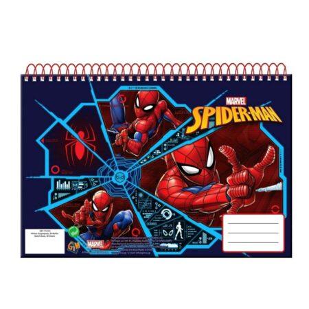 Spider-Man Παιδικό Μπλοκ Ζωγραφικής 51409