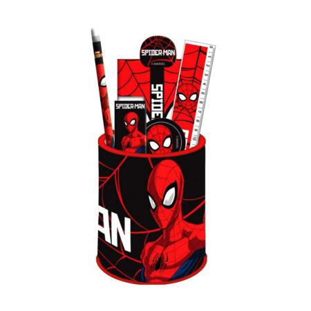 Spider-Man Σετ Δώρου Μολυβοθήκη 7τμχ.