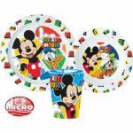 Disney Mickey Mouse Παιδικό Σετ Φαγητού 3τμχ.