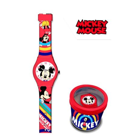 Disney Mickey Mouse Παιδικό Ρολόι Χειρός