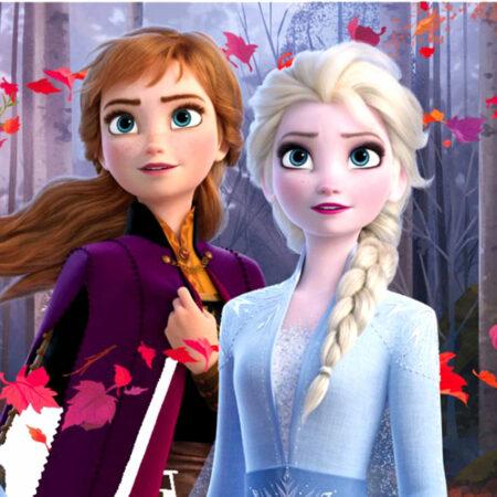 Disney Frozen Παιδικό Σουπλά Trust Your Journey