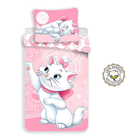 Disney Marie Cat Σετ Παπλωματοθήκης 140×200