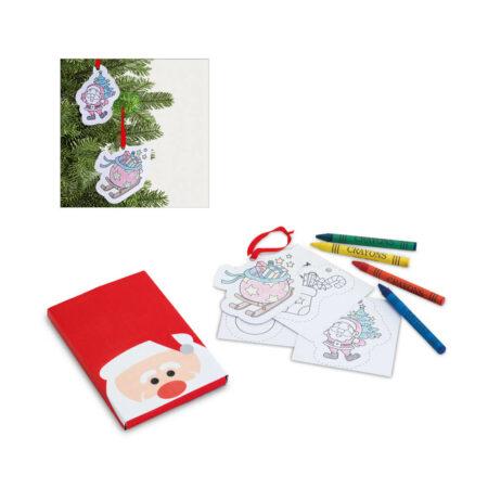 Χριστουγεννιάτικο Παιδικό Σετ Ζωγραφικής