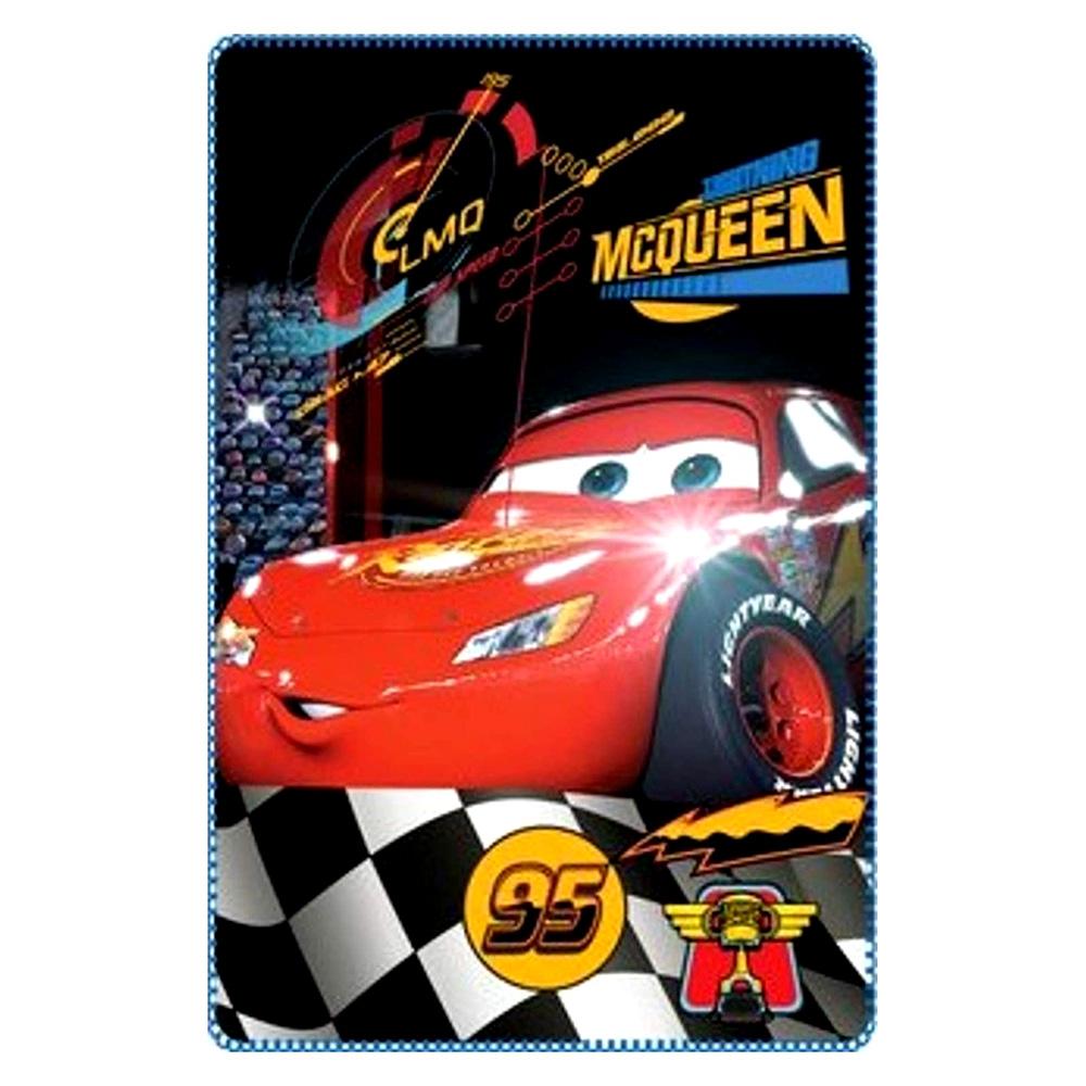 Disney Cars Fleece Βελουτέ Κουβέρτα 100×150εκ