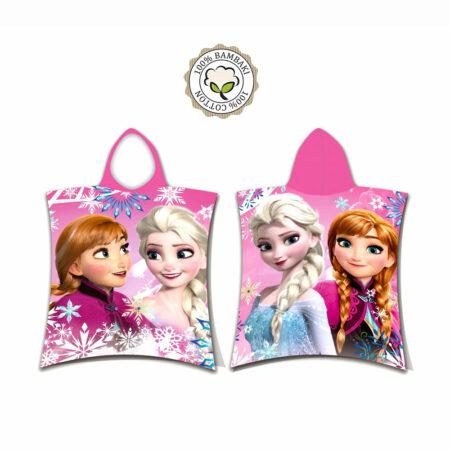 Disney Frozen 2 Βαμβακερό Πόντσο Μπουρνούζι Μπάνιου