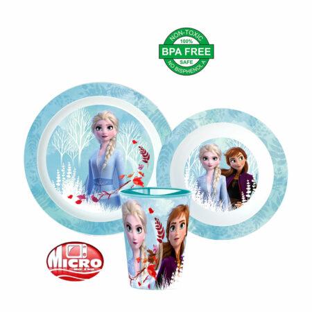 Disney Frozen Παιδικό Σετ Φαγητού 3