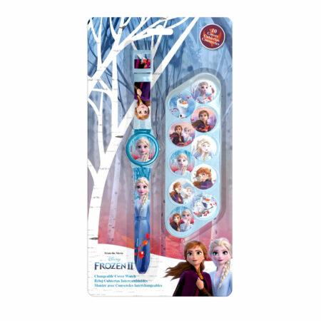 Frozen 2 Ψηφιακό Ρολόι με Αφαιρούμενο Κάλυμμα