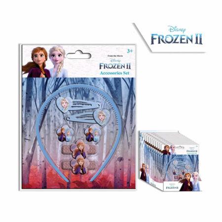 Disney Frozen Σετ Aξεσουάρ Mαλλιών 7τμχ.