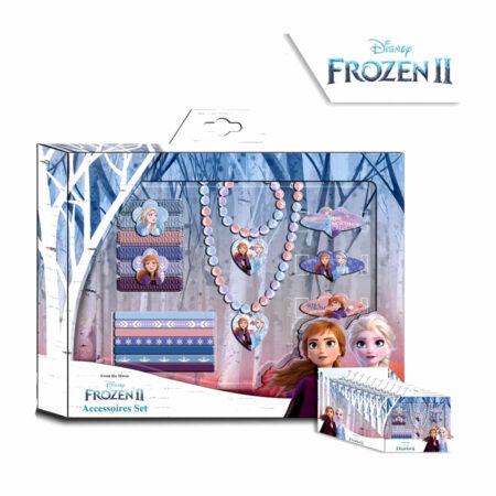 Disney Frozen 2 Σετ Κοσμήματα & Aξεσουάρ Mαλλιών