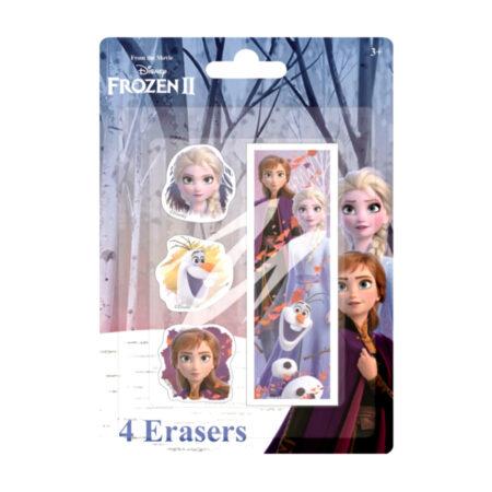 Disney Frozen Ice Magic Σετ Γόμες 4τμχ.