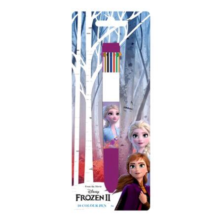 Disney Frozen Στυλό με 10 Διαφορετικά Χρώματα