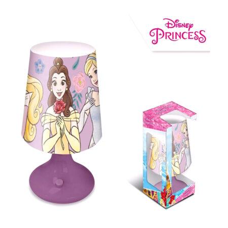 Disney Princess LED Μίνι Πορτατίφ-Φωτιστικό Κομοδίνου