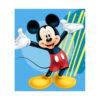 Disney Mickey Fleece Βελουτέ Κουβέρτα 120×140 εκ.