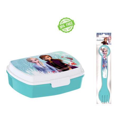 Disney Frozen Παιδικό Σετ Φαγητού 3τμχ.