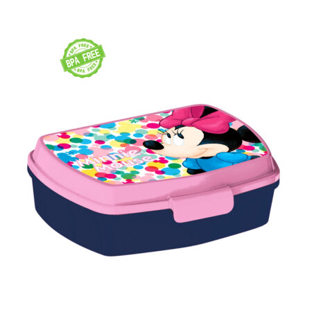 Disney Minnie Mouse Παιδικό Δοχείο Φαγητού