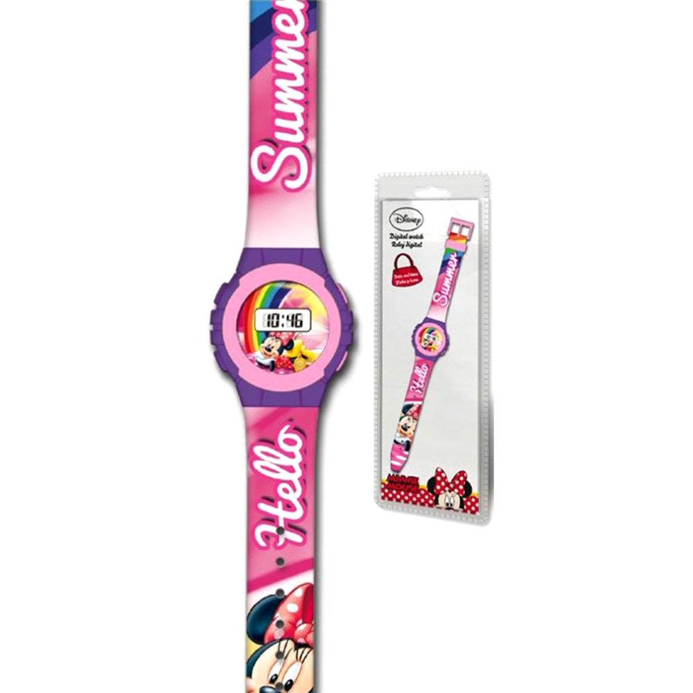 Disney Minnie Mouse Παιδικό Ψηφιακό Ρολόι Χειρός