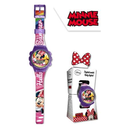 Disney Minnie Mouse Ψηφιακό Ρολόι Χειρός 528