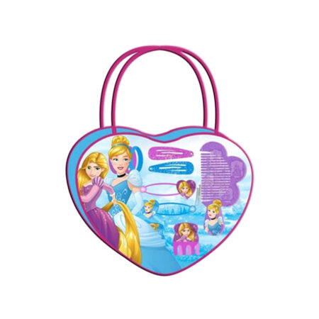 Disney Princess Τσαντάκι-Καρδιά με Αξεσουάρ Μαλλιών